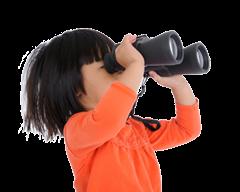 girl binoculars-background copy