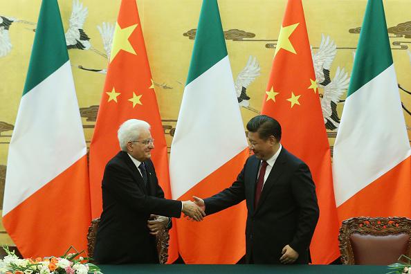 CHINA-ITALY-DIPLOMACY